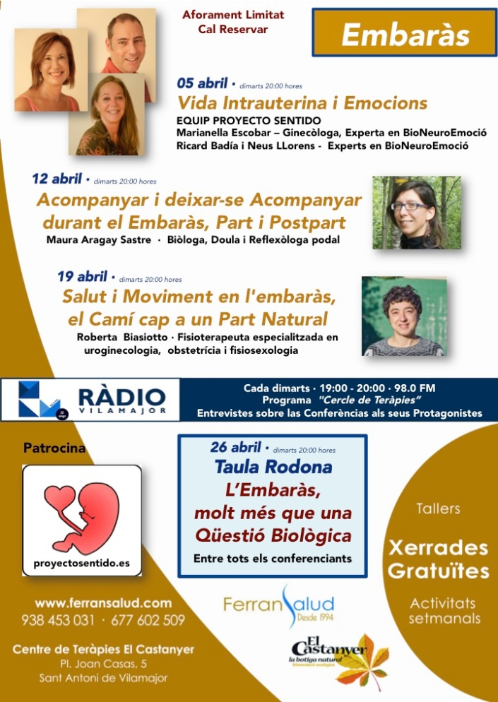 04.2016 Conferencias Abril